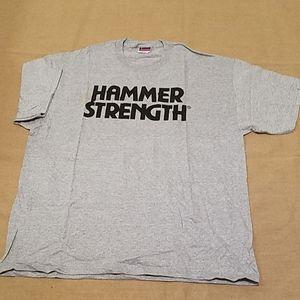 NWOT Champion Hammer Strength tee sz XL